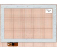 Тачскрин для планшета Prestigio MultiPad 4 PMP7110D 3G (ACE-GG10.1A-382-FPC) (белый)