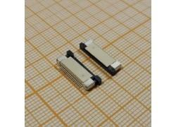 Контакты на плату под шлейф 20pin (планка снизу шлейфа)