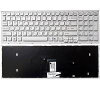 Клавиатура для ноутбука Sony VPC-EB белая (TOP-79821)