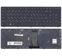 Клавиатура для ноутбука Lenovo G505S (T6E1-RU) G50 G70 B70 Z50 Z70 Z510 (TOP-99921) с черной рамкой