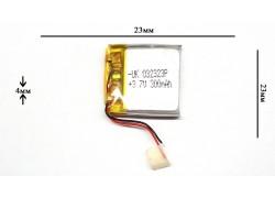 Аккумулятор для GPS, MP3   23\23\4 мм (3.7V)