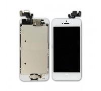 iPhone 5 - дисплей в сборе с тачскрином и рамкой (белый)