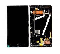 Nokia 930 Lumia (RM-1045) (Black) - дисплей в сборе с тачскрином