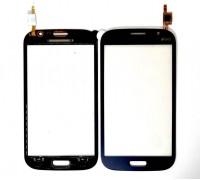 Samsung i9082 Galaxy Grand - тачскрин, сенсорное стекло (синий)