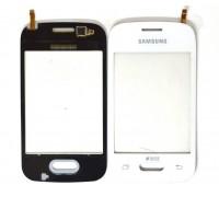 Samsung G110h Galaxy Pocket - тачскрин, сенсорное стекло (белый)