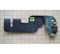 HTC One mini 2 (M8 mini) - шлейф с разъемом зарядки + микрофон