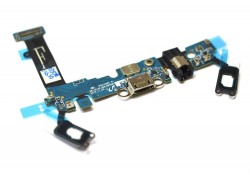 Samsung A510F Galaxy A5 - шлейф с разъемом зарядки + микрофон + разъем гарнитуры + кнопка Home