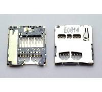 Контакты MicroSD с держателем Samsung i9100