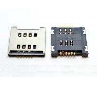Контакты SIM LG P715/E615/E455/T370/T375 с держателем