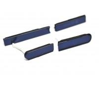 Sony L36h Xperia Z - боковые заглушки (черный)
