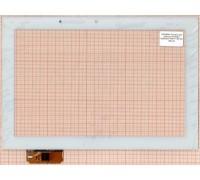Тачскрин для планшета ACE-GG10.1A-382-FPC (с прямыми углами) (белый) (644)