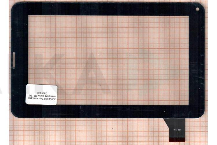 Тачскрин для планшета Supra M721G (черный) (246)