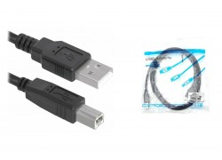 Кабель для принтера Орбита OT-PCC28 USB 2.0 (штекер USB(A) - штекер USB(B)) 1.5м
