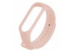 Ремешок силиконовый для XIAOMI MI Band 5 розовый песок