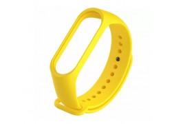 Ремешок силиконовый для XIAOMI MI Band 5 желтый