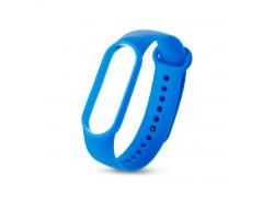 Ремешок силиконовый для XIAOMI MI Band 5 синий