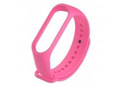 Ремешок силиконовый для XIAOMI MI Band 5 ярко-розовый