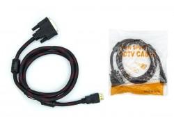 DVI-D - HDMI (V1.4) 3 метра