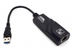 Сетевой Ethernet адаптер USB3.0 Type-A (M) --> RJ45 (F) (1000Mbps)