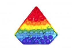 Силиконовая антистресс игрушка POPIT Попит  (разноцветная, формы в ассортименте)