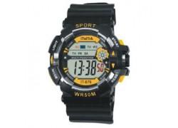 iTaiTek IT-876 Желтые часы наручные