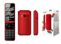 Мобильный телефон teXet TM-405 красный