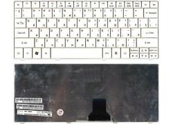 Клавиатура для ноутбука Acer Aspire ONE 751 белая
