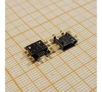 microUSB 2.0 разъем для планшетов Jack065 (5pin) (OneX)