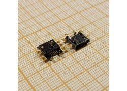microUSB 2.0 разъем для планшетов Jack065 (5pin)