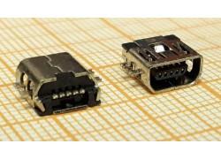 miniUSB 2.0 разъем для планшета USB-MU-005-02 (5pin)