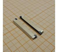 Контакты на плату под шлейф 54pin (планка снизу шлейфа)