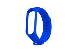 Ремешок силиконовый для XIAOMI MI Band 3/MI Band 4 цвет синий