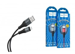 Кабель для iPhone HOCO X38 Cool Charging data cable for Lightning 1м черный