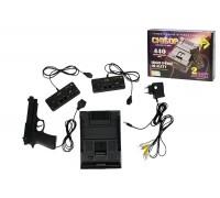 Игровая Приставка 8-Bit Сюбор (440 встроенных игр + пистолет, черного цвета корпус)
