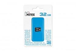 Карта памяти microSDHC MIREX 32GB (class 4) без адаптера