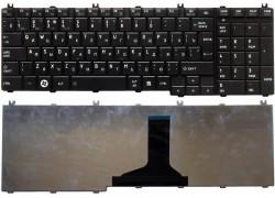 Клавиатура для ноутбука Toshiba Satellite C650 черная