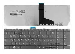 Клавиатура для ноутбука Toshiba Satellite C850 черная