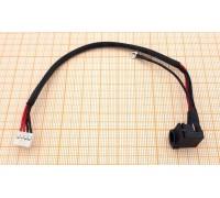 Разъем питания Samsung R518, R519 (с кабелем)
