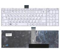 Клавиатура для ноутбука Toshiba Satellite C850 белая