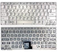 Клавиатура для ноутбука Sony VPC-CA серебристая