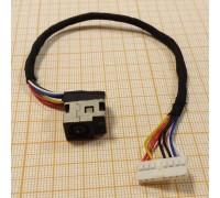 Разъем питания для ноутбуков HP G62 Series с кабелем (1-й тип)