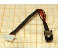 Разъем питания для ноутбука Samsung XE700 с кабелем