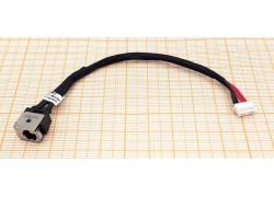 Разъем питания для ноутбука Asus X450 с кабелем