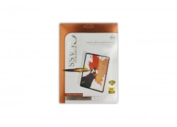 Защитная пленка (44) для iPad mini5 Polimer Nano Ceramic (белая рамка)