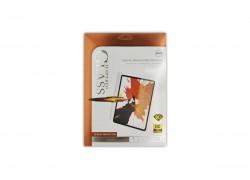 Защитная пленка (44) для iPad mini4 Polimer Nano Ceramic (белая рамка)