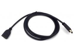 Кабель HDMI (F) --> HDMI (M) V1.4 1,5 метра (удлинитель)