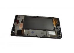 Дисплей для Nokia 730 (RM-1040)/ 735 (RM-1039) в сборе с тачскрином + рамка