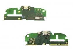 Шлейф для Nokia 1 с разъемом зарядки (плата) HQ