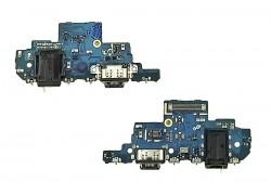 Шлейф для Samsung A525F Galaxy A52 с разъемом зарядки + разъем гарнитуры (плата) HQ