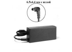 Зарядное устройство для ноутбука Sony 19.5V 3.3A коннектор 6.5 х 4.4 с иглой OEM